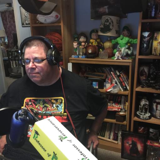 James Perdue podcasting